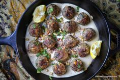 Moroccan Lemon and Cardamom Meatballs 2
