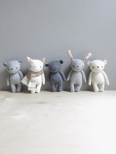 the dear ones mini bears | oh albatross handmade