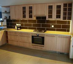 konyhabútor Kitchen Cabinets, Home Decor, Restaining Kitchen Cabinets, Homemade Home Decor, Kitchen Base Cabinets, Interior Design, Home Interiors, Decoration Home, Home Decoration