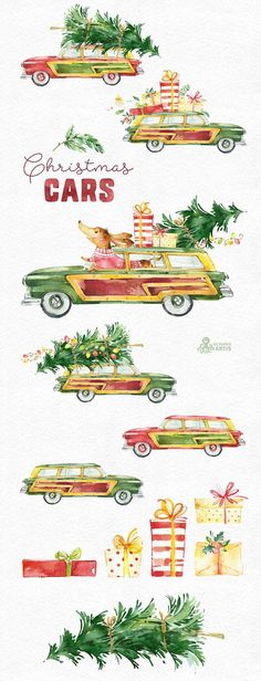 This set of 13 high quality hand painted watercolor graphics. Perfect graphic for Christmas project, greeting cards, photos, posters, quotes and more.  -----------------------------------------------------------------  INSTANT DOWNLOAD Once payment is cleared, you can download your files directly from your Etsy account.  -----------------------------------------------------------------  This listing includes:  13 x Images in PNG with transparent background, different size approx.: 15-4.6in…