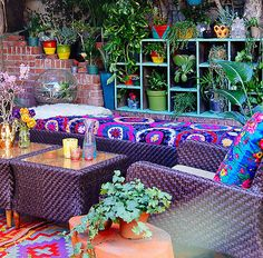 10 Ideas For Decorating A Vibrant Bohemian Patio | eBay