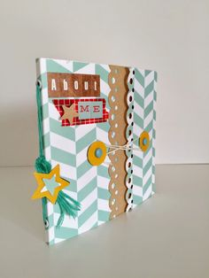 Scrapbookingitalia: Mini Album: About Me - Tutorial