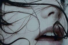 Creative Photos, Hair, Breath, and Lips image ideas & inspiration on Designspiration Carina Smyth, The Deal Elle Kennedy, Hawke Dragon Age, Mara Dyer, Effy Stonem, Wonderful Day, Yennefer Of Vengerberg, Ex Machina, Diabolik