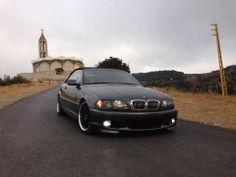BMW E46 3 series black cabrio E46 Cabrio, Watch This Space, Bmw E46, Convertible, Euro, Black, Style, Cutaway, Swag
