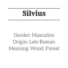 Silvius