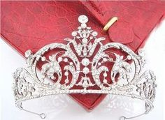 $20 18K White Gold Plated Austria Crystal Rhinestone Bridal Hair Jewelry Wedding Hair Accessories Pageant Tiaras and Crowns