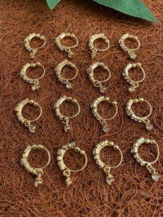 Nose Ring Stud, Nose Rings, Jewelry Design, Design Inspiration, Jewellery, Metal, Bracelets, Gold, Bangle Bracelets