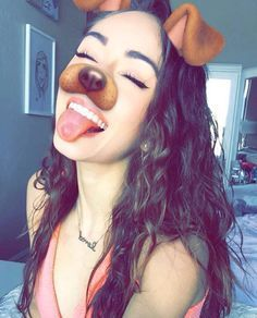 """Sadie: """"i hate the dog filter but yet i love it at the same time"""" i giggle Snapchat Selfies, Snapchat Girls, Snapchat Picture, Snapchat Faces, Snap Snapchat, Snapchat Stickers, Ft Tumblr, Tumblr Girls, Tumblr Photography"""