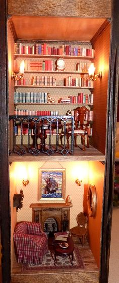 Ramsey's Gentleman's Study by Inch by Inch Miniatures Club