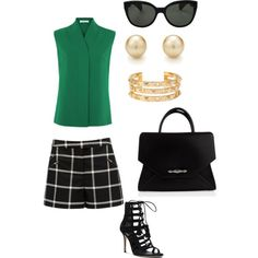 Lunch Date Outfit by mobbing on Polyvore featuring polyvore, fashion, style, Michael Kors, Givenchy, Tory Burch and Oliver Peoples