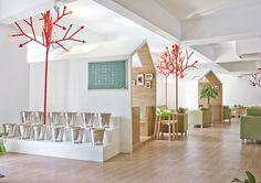 Interior/Exterior Kale Café / YAMO Design