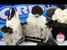 Oreo Cheese cake Cupcake Recipe - Learn how to make these delicious treats, and…