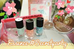 I was lucky to get some products sent from Essence of their limited edition #secretparty and write a review about them so stop by on www.its-mercedita.blogspot.de to read what I think about it :) ♡