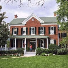 old brick farmhouses | Victorian farmhouse with 3-story addition
