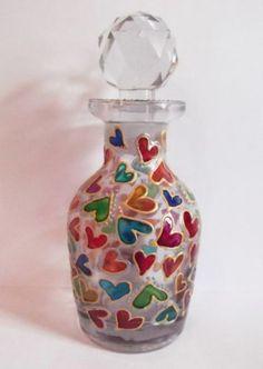 Perfume bottle design.