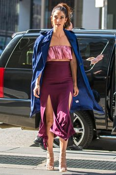 15 Celebrities Teach Us How to Rock Ruffles (without Looking Too Girly) - Lily Aldridge  - from InStyle.com