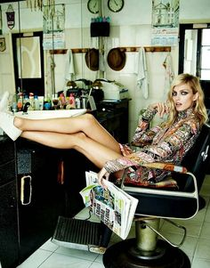Anja Rubik by Marcin Tyszka for Viva! Nov. 2014 | Fashion photography | Editorial
