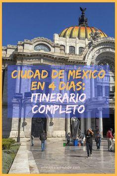 Itinerario relámpago: Ciudad de México en 4 días - Un Viaje a la Medida Mexico Resorts, Mexico Vacation, Italy Vacation, Mexico Travel, Df Mexico, Visit Mexico, Tulum Mexico, Us Travel Destinations, Places To Travel