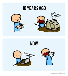 Email: 10 Years Ago vs. Now [Comic]