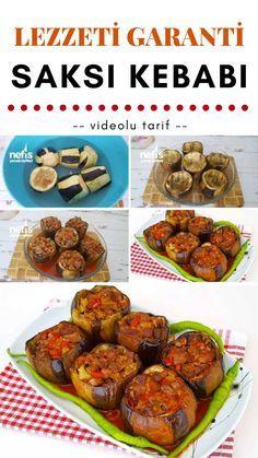 Lezzeti Garanti Saksı Kebabı Tarifi nasıl yapılır? #saksıkebabı #yemektarifleri #patlıcanyemekleri #patlıcan #kebap