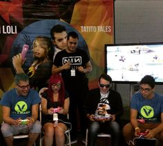 Mucho #gaming !!!! #gaminghut en @vloginfest !!! @yama_rainbow vs @tatitotales !! @papopistola #gamers #PuertoRico #VlogInFest