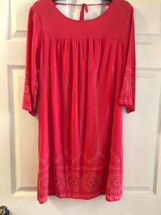 085fa8dae16c Crown and Ivy Coral Dress Size 4 #fashion #clothing #shoes #accessories #