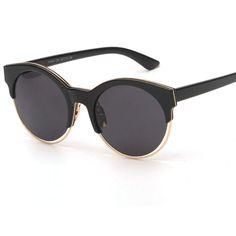 415fbcec361 Aliexpress.com  Comprar Nueva marca de lujo del ojo de gato gafas de sol