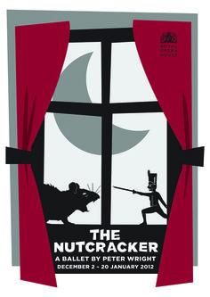 Illustration / Poster of The Nutcracker by David Swift