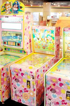 games! Sanrio Puroland. thecherryblossomgirl