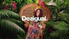 Flower Capsule for the Spring Summer 2015 collection of Desigual with the amazing Chantelle Winnie.  Client: Desigual Direction: Desigual Production: Desigual, Malditos Produce Art Director: Maga Kwasniewska for Desigual Model: Chantelle Winnie  Animation Director: Sebastián Infante Animators: Pablo Navarro, Joel Morales, Sebastián Infante Colourists: Macarena Ortega, Joel Morales, Sebastián Infante