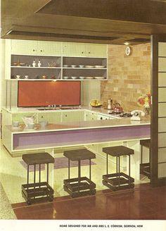 Purple and Orange Kitchen   by glen.h