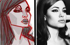 Cartoonize it! by Valeria Issa, via Behance