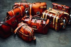 Leather Goods Handmade in the USA Briefcase For Men, Leather Briefcase, Custom Leather, Leather Men, Leather Handbags, Leather Bags, Leather Jackets, Novelty Bags, Suitcase Bag