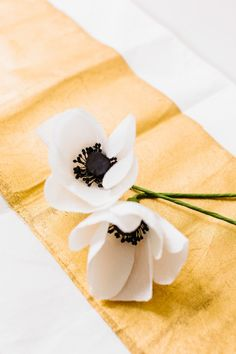 DIY paper flowers: http://www.stylemepretty.com/living/2015/04/21/how-to-diy-paper-flowers/   Photography: Nicole Baas - http://nicolebaasphotography.com/