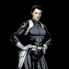 Maria Hill Character from the Avengers on Marvel HQ Secret Avengers, Avengers Team, Young Avengers, Marvel Avengers, Marvel Comics, Female Comic Characters, Avengers Characters, Marvel Comic Character, Avengers Movies