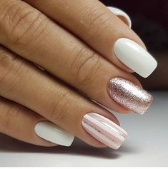 Trendy Winter Nail Art Ideas For 2019 These trendy Nails ideas would gain you amazing compliments. Check out our gallery for more ideas these are trendy this year. Fabulous Nails, Gorgeous Nails, Love Nails, Fun Nails, Classy Nails, Simple Nails, Trendy Nails, Gelish Nails, Nail Manicure