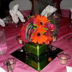 Gerbera table arrangement