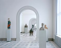 1stdibs   Reinhard Görner - Bode-Museum (white sculpture gallery)