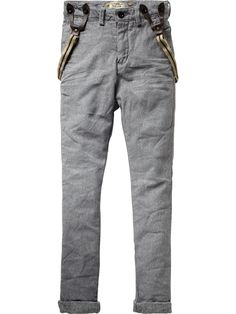 Low Crotch Chino Pants