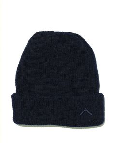 Boot Camp Wool Hat - Navy - Our signature wool beanie with tonal embroidered chevron logo. - 100% Wool. - Made in New York.