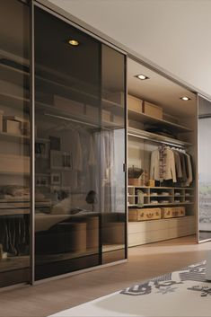 Walk in wardrobes, luxurious dressing rooms, and custom closet systems. Featuring beautiful closet lighting insallations and closet organisation ideas. Walk In Closet Design, Bedroom Closet Design, Bedroom Furniture Design, Home Room Design, Dream Home Design, Home Interior Design, Wardrobe Door Designs, Closet Designs, Dressing Room Design