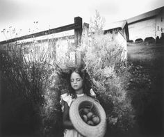 enjoy the egg-hunt today!  (Yard Eggs, 1991 / © Sally Mann)