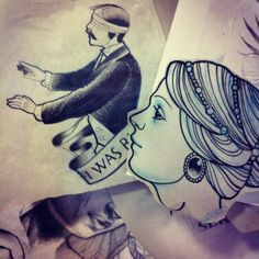 I was blind #tattoo #sketch