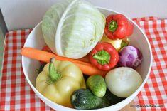 Salata de muraturi reteta de ciolomada ungureasca | Savori Urbane Cabbage, Vegetables, Food, Canning, Salads, Essen, Cabbages, Vegetable Recipes, Meals