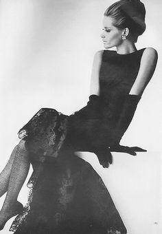 Veruschka, September Vogue 1964