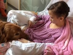 Dying girl's last wish: Please, remember to throw the ball for my service dog-slide0