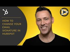 How To Change Your Email Signature In HubSpot - YouTube Inbound Marketing, Digital Marketing, Free Email Signature, Email Signatures, Future Videos, Sales Process, Email Templates, Whats New, Being Used
