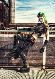 Post Apocalypse LivingDreadDoll by Laguz Photography 2015