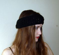 Wide Knitted Headband  Knit Fashion Accessory by boutiqueseragun