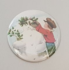 Christmas magnet kitchen magnets refrigerator by InHouseTreasures